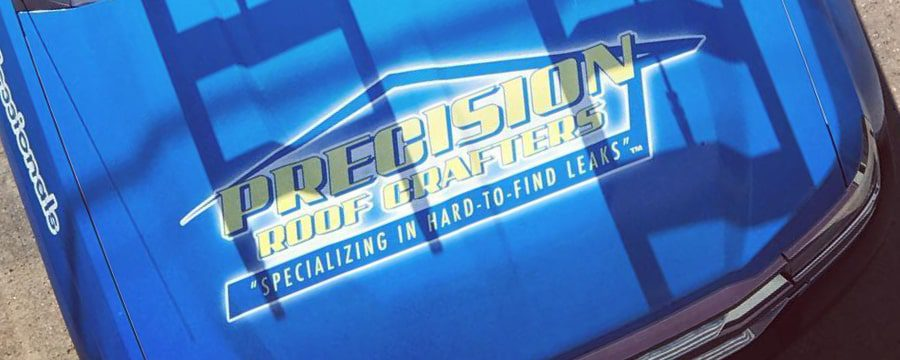 Precision Roof Crafters Truck